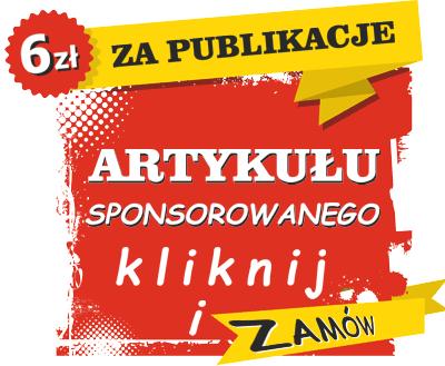 Tylko 6 zł za publikacje artykułu sponsorowanego na portalu Bankus.pl.